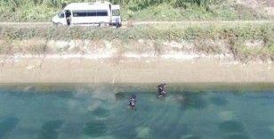 Kanalda kaybolan gencin cesedi drone ile bulundu