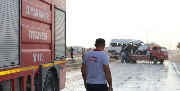 Diyarbakır'daki feci kaza