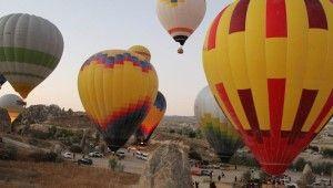 Yerli ve milli balonlar Kapadokya semalarında
