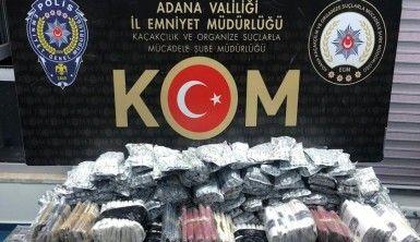 Adana'da kaçak içki ve tütün ele geçirildi