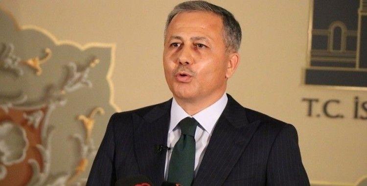 Vali Yerlikaya'dan Ersin Tatar için tebrik paylaşımı