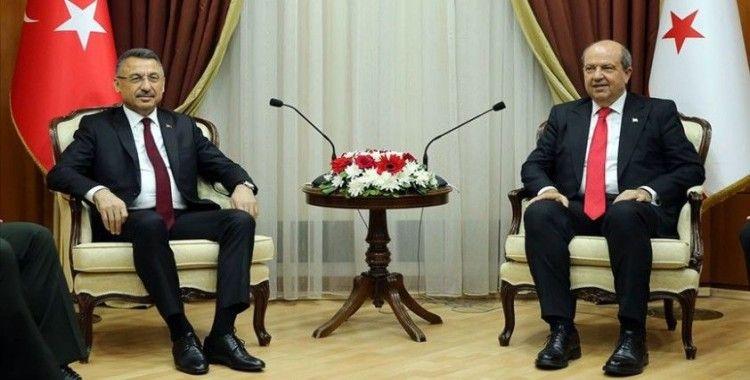 Cumhurbaşkanı Yardımcısı Oktay: Çok daha güçlü bir Kıbrıs hepimizin arzusu