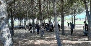 Seydikemer'de 75 düzensiz göçmen yakalandı