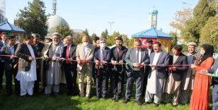 TİKA, Afganistan'ın Mezar-ı Şerif kentindeki Ravza-i Şerif bahçesini yeniledi
