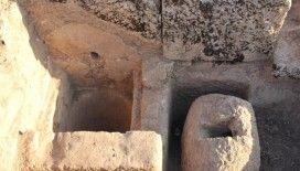 Perre Antik Kent'teki kazılarda 9 adet üzüm işliği bulundu