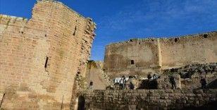 9 asırlık Harran Sarayı'nın ana kapısı gün yüzüne çıkarıldı