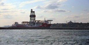 Kanuni sondaj gemisi Haydarpaşa Limanı'nda