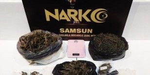 Samsun'da narkotik uygulaması: 4 gözaltı