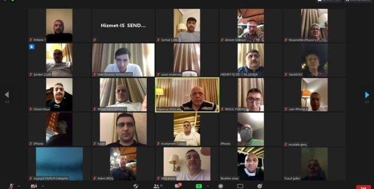 HAK-İŞ/Hizmet-İş Başkanlar Kurulu toplandı