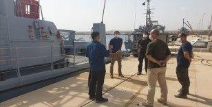 Libyalı askerlere sahil güvenlik eğitimi
