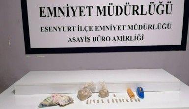 Esenyurt'ta uyuşturucu operasyonu