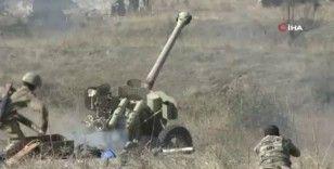 Azerbaycan ordusu Ermenistan ordusuna ait ateş noktalarını vurdu