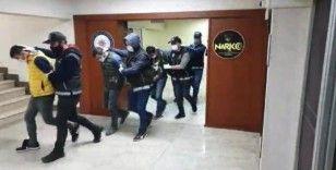 Sakarya'da 152 polisin katılımı ile şafak operasyonu
