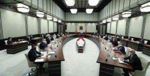 Cumhurbaşkanlığı Kabinesi, Erdoğan başkanlığında topladı