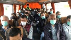 Manisa'da toplu taşıma araçlarında covid-19 denetimi
