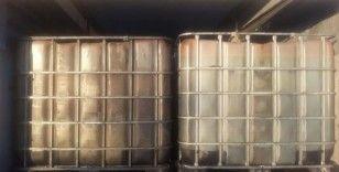 Niğde'de 14 bin litre kaçak akaryakıt ele geçirildi