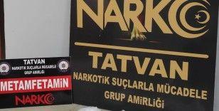 Bitlis'te 2 kilo 780 gram uyuşturucu ele geçirildi