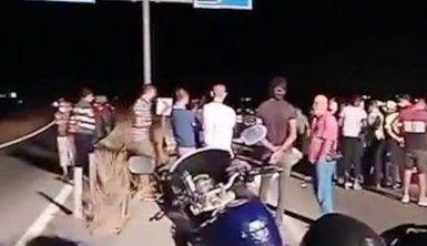KKTC'de feci trafik kazası