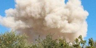 İdlib'deki hava saldırısında 4 kişi yaralandı