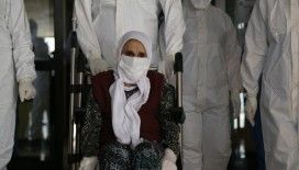 101 yaşındaki kadın 5 günlük tedavi ile koronavirüsü yendi