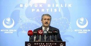 BBP Genel Başkanı Destici: Katil Ermenistan her gün yeni mağlubiyetler yaşarken hırsını sivillerden almaya çalışıyor