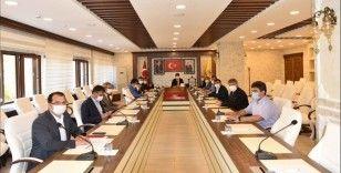 Üniversite Sanayi İşbirliği toplantısı yapıldı