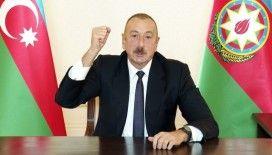Azerbaycan Cumhurbaşkanı Aliyev: Azerbaycan-İran sınırının işgal altındaki kısımları tamamen kurtarıldı