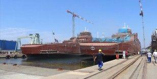 Yalova'daki Tersaneler Bölgesi'nde kruvaziyer gemi üretimi başladı