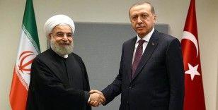 Cumhurbaşkanı Erdoğan ile İran Cumhurbaşkanı Ruhani telefonda görüştü