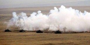 'Ateş Serbest-2020' faaliyetinde tüm hedefler tam isabetle vuruldu