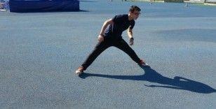 16 yaşındaki atletin hedefi 2024 olimpiyatlarında rekor kırmak