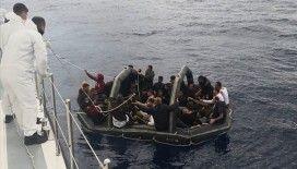 Muğla'da Türk kara sularına itilen 232 sığınmacı kurtarıldı