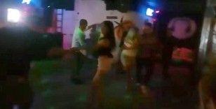 İzinsiz dans gecesinde 4 kişi korona virüse yakalandı