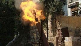 Terör örgütü DEAŞ ile Esed rejimi güçleri arasında Hama kırsalında çatışma