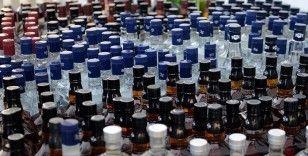 Kiralık depoya kaçak içki operasyonu
