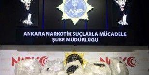 Ankara Narkotik polisi 31 kilo kubar esrar ele geçirdi