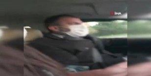 """Müşteriyi """"Seni gebertirim kadın"""" diye tehdit eden taksicinin ruhsatı iptal edildi"""