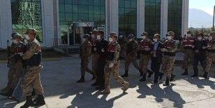 Kahramanmaraş merkezli 5 ilde terör örgütü operasyonu: 15 gözaltı