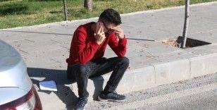 Saati geri kaldı, sınava alınmayınca gözyaşlarına boğuldu