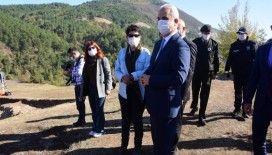 Vali Avni Çakır Kahin Tepe'de kazı çalışmalarını inceledi