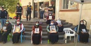 HDP önündeki evlat nöbeti 419. gününde