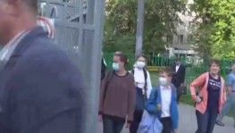 Rusya'da maske takma zorunluluğu