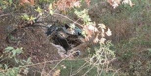 Freni patlayan araç uçuruma yuvarlandı: 1 ölü