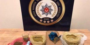 Bursa'da bir kişiden 2 kilo uyuşturucu çıktı