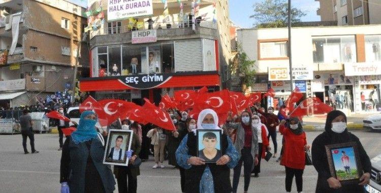 Şırnak anneleri HDP binasını 'Kahrolsun PKK' sloganları ile inletti
