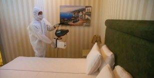 Pandemi tesislerin dezenfeksiyon hizmeti kullanımını yüzde 385 artırdı