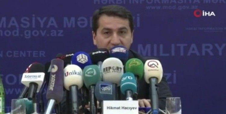 """Azerbaycan Cumhurbaşkanı Yardımcısı Hacıyev: """"Bugün daha dayanışma içindeyiz"""""""