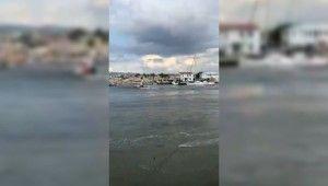 İzmir'de Tsunami paniği