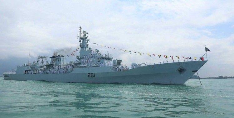 Pakistan firkateyni PNS Zulfiqar, Aksaz Deniz Üssü'nde