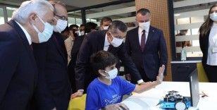 Milli Eğitim Bakanı Ziya Selçuk 97 kodlama atölyesini açtı
